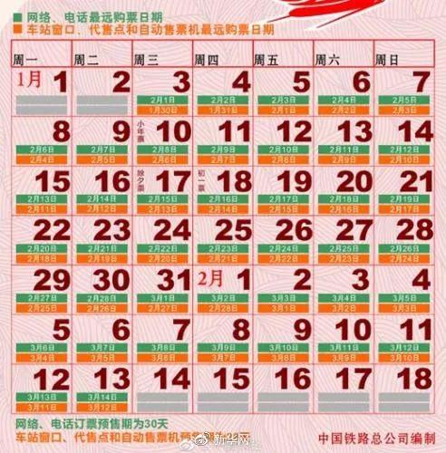 火车票日期