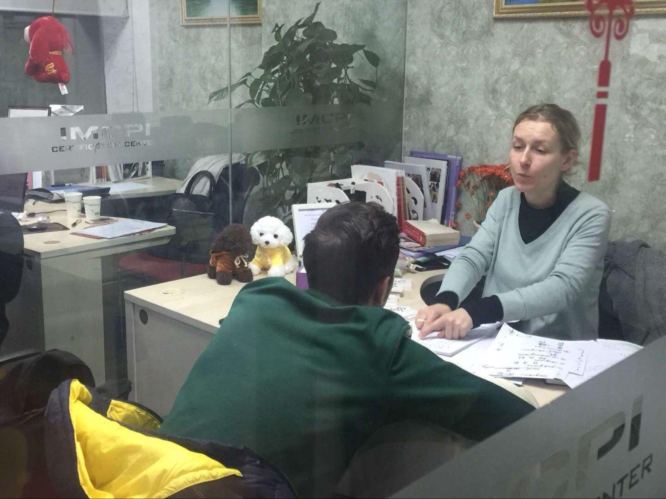 玛瑞欧教育外籍中文教师