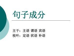 对外汉语教学的40个语法点