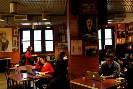 咖啡馆 对外汉语教师 教老外汉语
