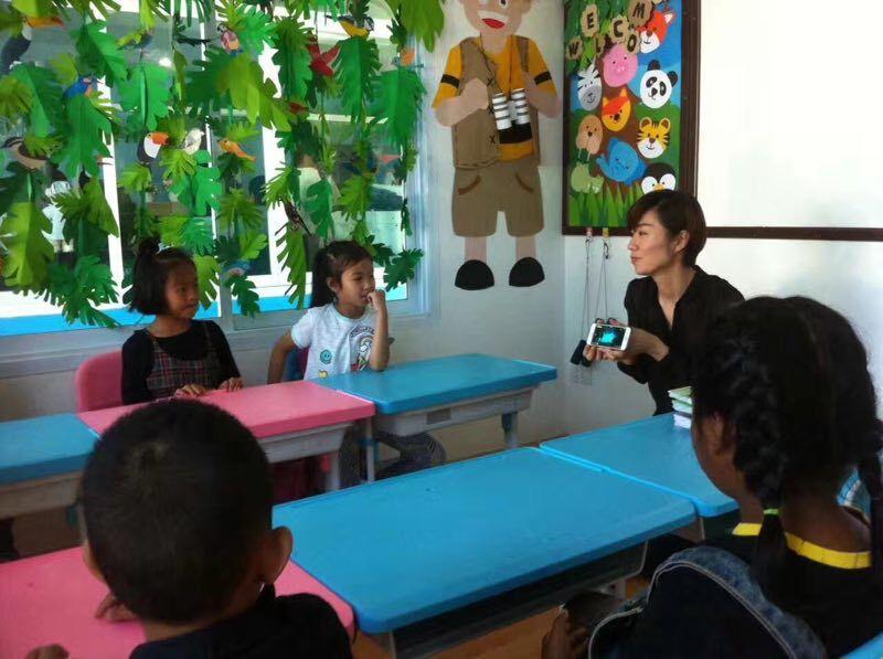 对外汉语教师 赴泰对外汉语教学