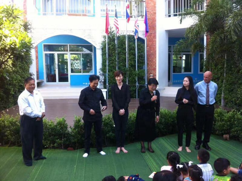 赴泰国教学