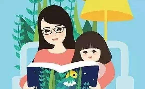 全职妈妈陪娃看书