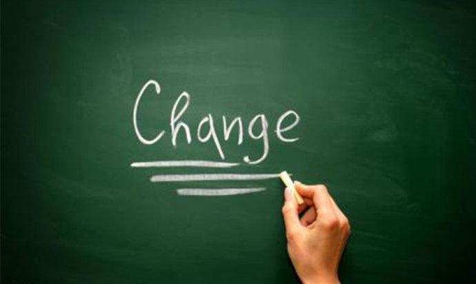 改变自己 活出精彩