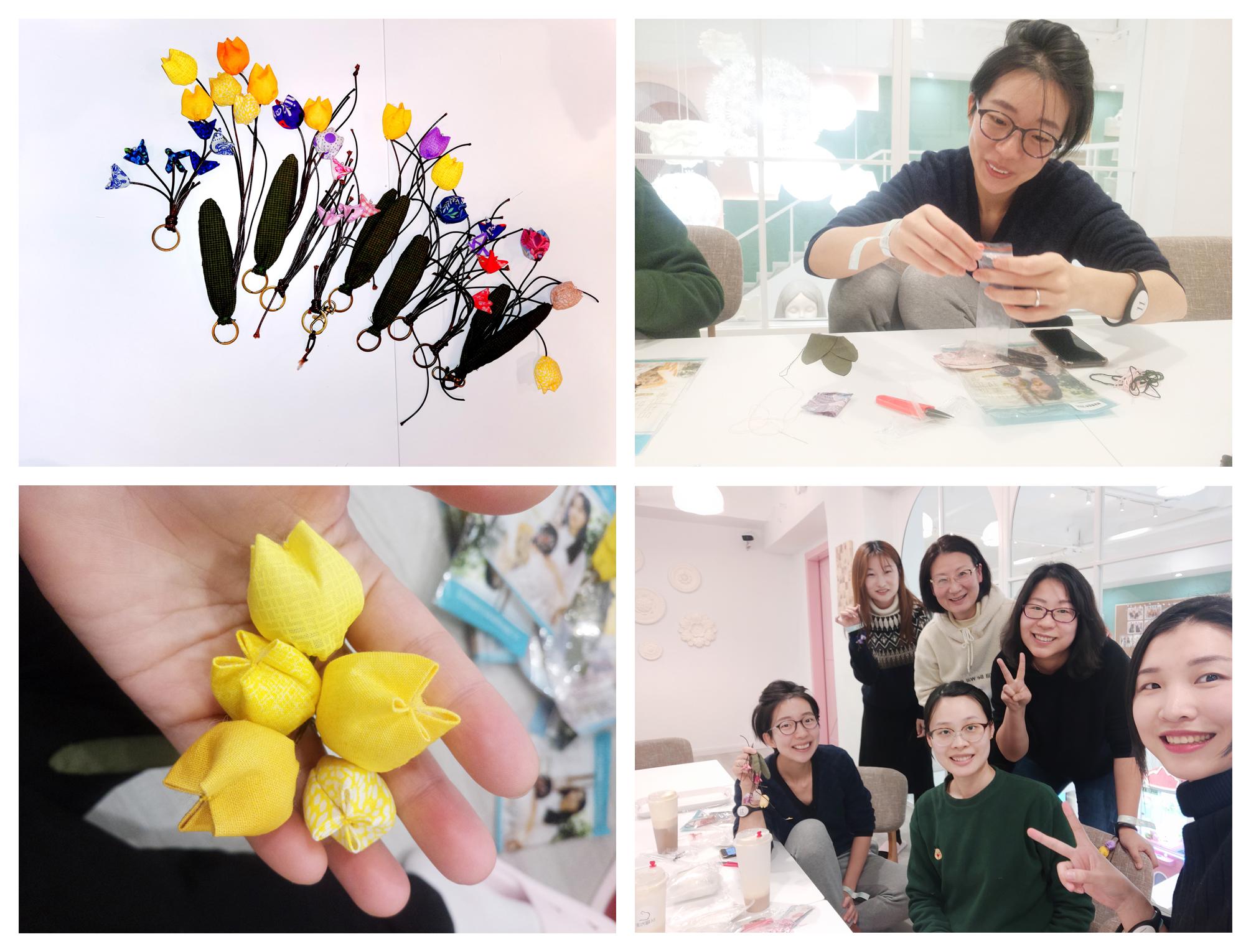 布艺制作之铃兰花,一束永不凋谢的幸福花