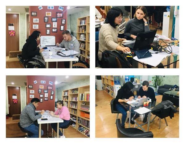 恭喜12月份汉语角签约老师 外籍学员大部分来自欧美国家哟